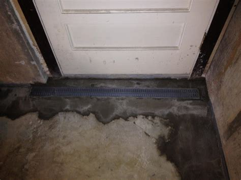 water coming up from basement drain woods basement systems inc basement waterproofing