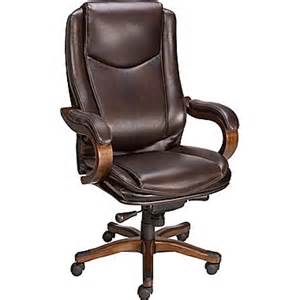 staples eastcott top grain leather mid back executive