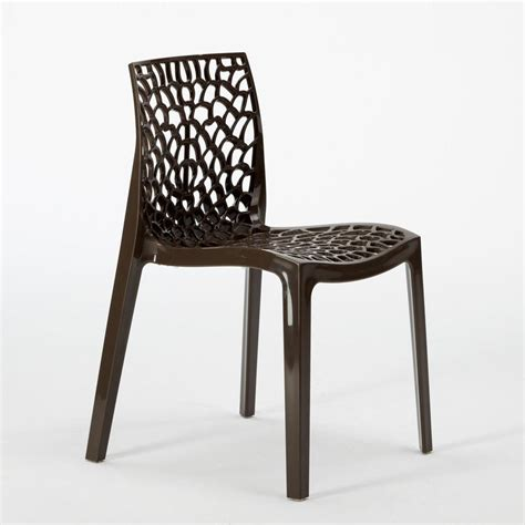 ebay chaises chaise plastique cuisine bar polypropylene empilable