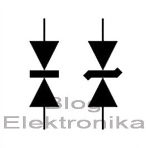 simbol diode penyearah pengenalan diode elektronika