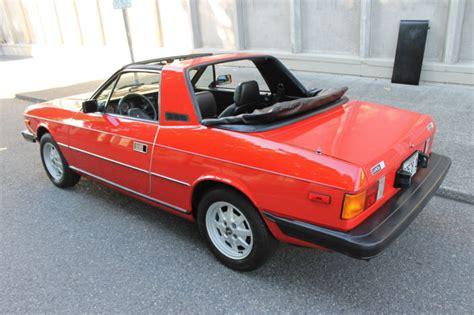 Lancia Beta Zagato 1979 Lancia Beta Zagato Spider Classic Italian Cars For Sale