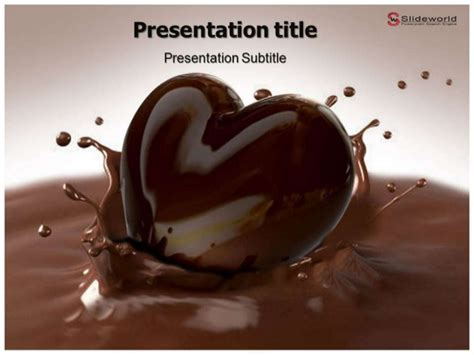 chocolate templates for powerpoint free download chocolate day powerpoint template slideworld com