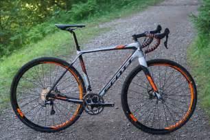 Road Bike Tires Gravel Trail 2016 Addict Gravel Bike Hits The Dirt Road W New