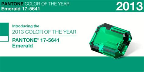 pantone color of the year 2012 pantone color of the year 2013 emerald design milk