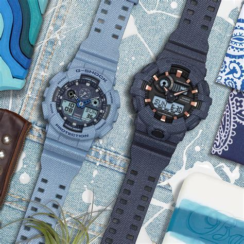 Casio Baby G Motif g shock and baby g designed in the motif of a denim fashion