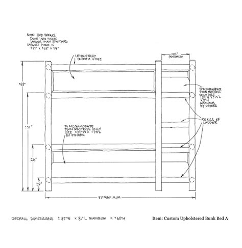 Bunk Bed Dimensions Plans Bunk Bed Dimensions Bunk Ideas From Classic Bunks Bedroom Furniture Sets Bunk Bed