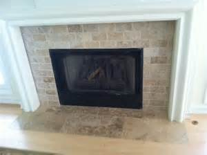 travertine fireplace my designs