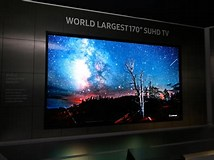 Image result for What is the biggest TV in the world?. Size: 214 x 160. Source: www.ibtimes.co.uk