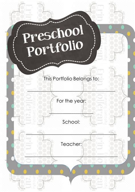 preschool ponderings what s in my student portfolios