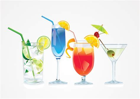 cocktail illustration cocktail vector illustrations free 벡터 그래픽 365psd com