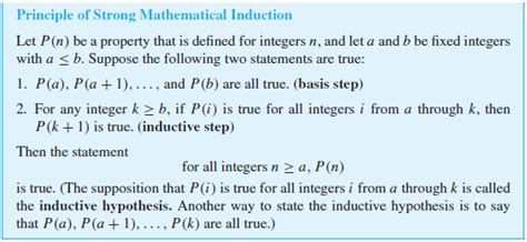how to make a strong induction elementary number theory what s the benefit of using strong induction when it s replaceable by