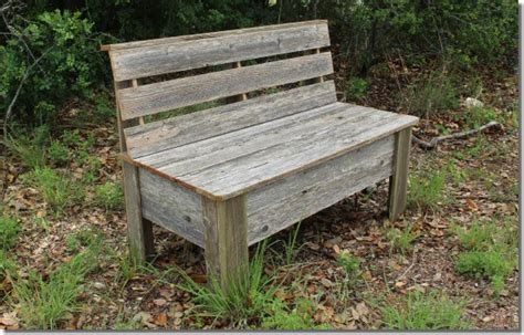 how to make a rustic bench rustic bench plans make your own bench using old fence