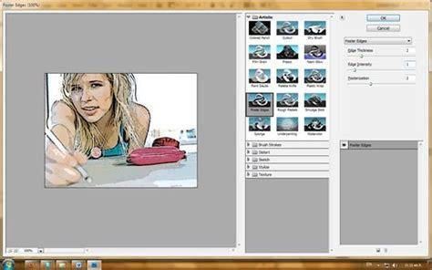 membuat foto menjadi kartun dengan photoshop cs4 semua tentang desain grafis efek foto kartun dengan