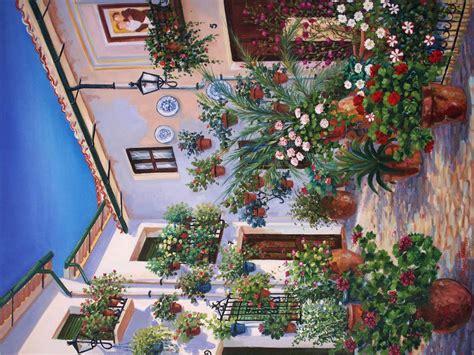 laras patio interior patio sevilla pedro jos 233 segovia lara artelista en