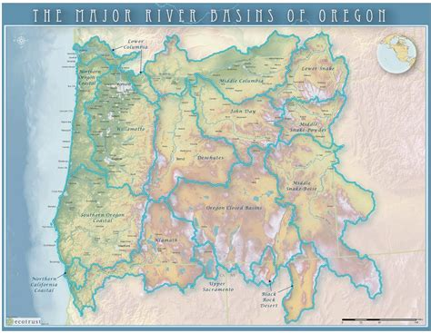 map of oregon rivers portland state sustainability the klamath water wars a
