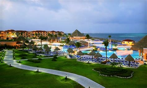 moon palace cancun all inclusive trip with airfare groupon