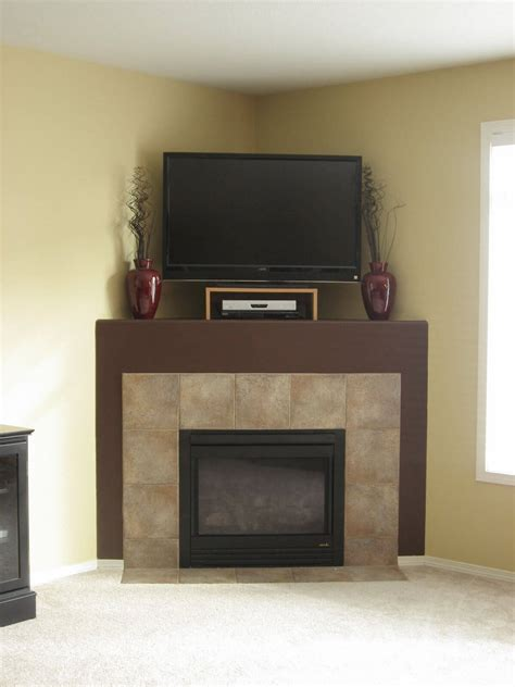 With Fireplace by Furniture The Most Valuable Corner Tv Stand With