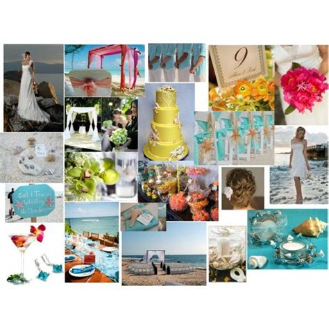 color palette turquoise orange brown polyvore 17 best images about weddings design palettes 2 on
