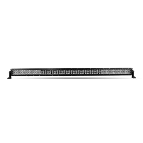 multi color led light bar 52 quot row multicolor led light bar spot flood beam