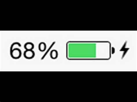 iphone 6 6 plus battery percentage on