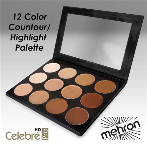 Nicka Contour Kit Palette Hilight Contour Makeup mehron pro hd foundation contour and highlight palette