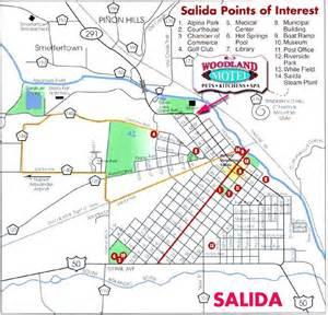 salida colorado map colorado colorados fourteeners sawatch mountain mt shavano