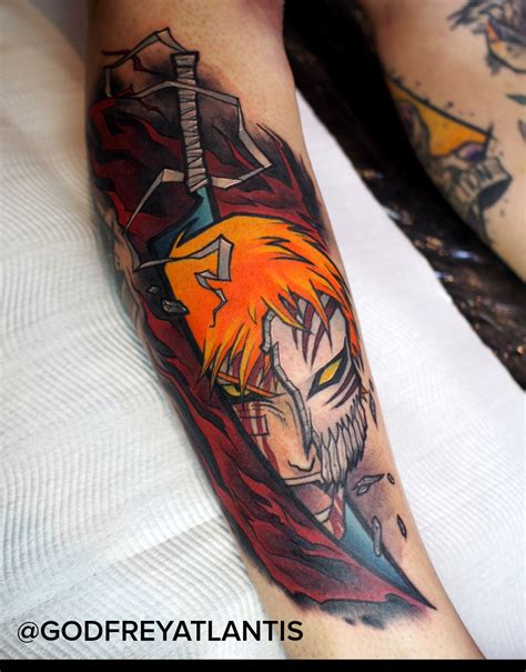 atlantis tattoo ichigo from by godfrey atlantis