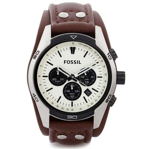 Fossil Ch 2890 Silver Brown fossil ch2890 7store