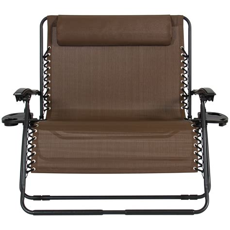 2 Person Lounge Chair by Folding 2 Person Oversized Zero Gravity Lounge Chair W 2