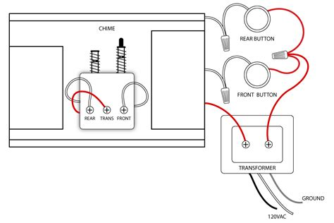 nutone doorbell wiring diagram for dual button chime png
