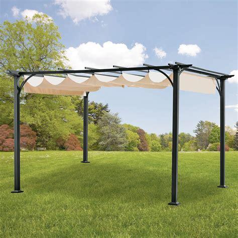 Walmart Gazebo Replacement Gazebo Canopy Garden Winds Canada Pergola Canopy Replacement
