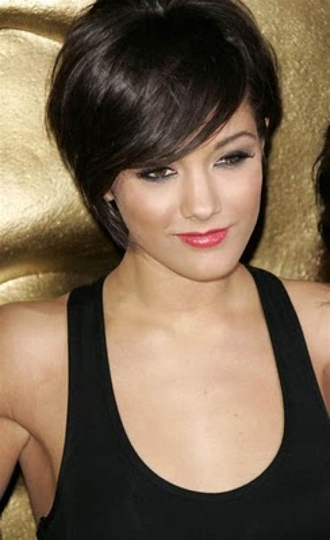 short haircuts with black hair color dark short hairstyle the latest trends in women s