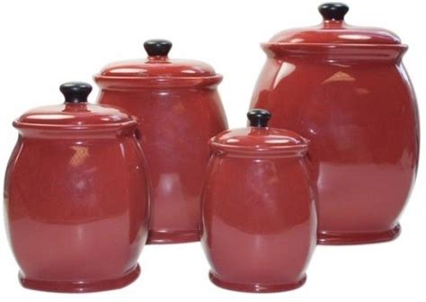 red kitchen canister sets ceramic 25 best ideas about ceramic canister set on pinterest