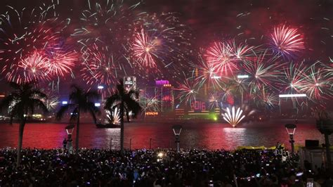 new year bank china as hong kong in a blaze of fireworks new year s