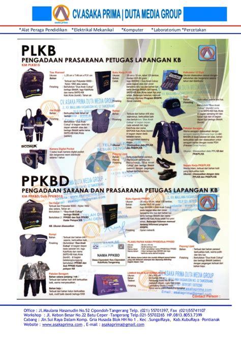Sepatu Gats Tangerang paket pengadaan sarana dan prasarana petugas lapangan kb
