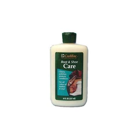 Cadillac Leather Cleaner by Cadillac Boot And Shoe Care 8 Ounces