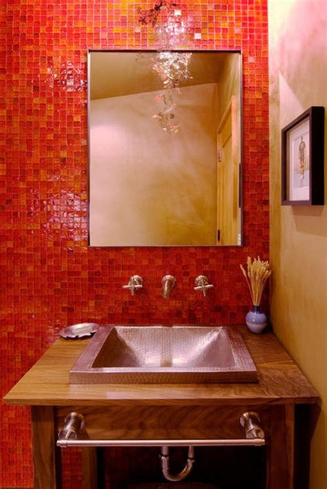red tile bathroom 34 red bathroom wall tiles ideas and pictures