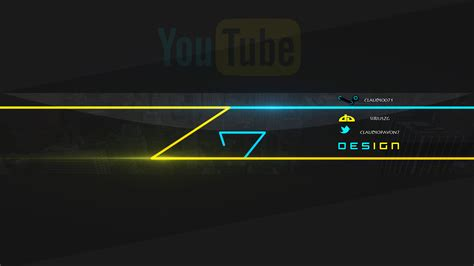 summer youtube channel art template ytt
