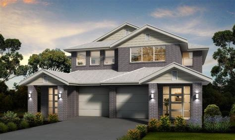 single duplex storey house designs masterton