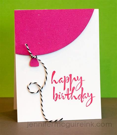 Simple Birthday Card 25 Best Ideas About Happy Birthday Cards On Pinterest