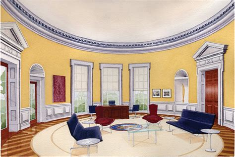 yellow oval office the oval office of the president ida york design group inc