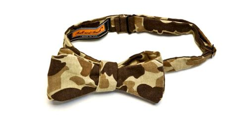10engines 10e2003 duck camo bow tie from and buck