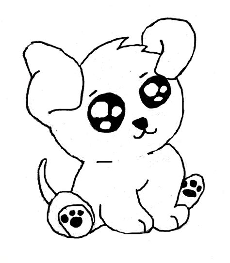 black and white coloring pages of dogs black and white animal drawings easy www imgkid