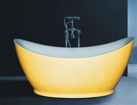 yellow bathtub b538 special design soaking bath tub deep bath tub yellow