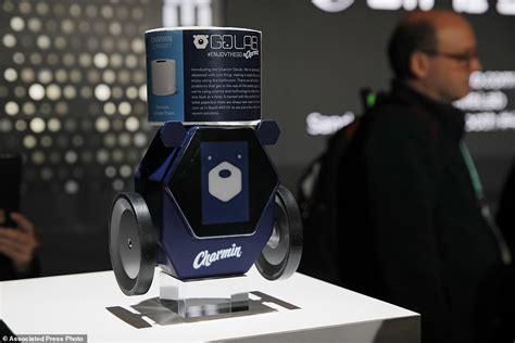 ces gadget show toilet paper robot  tracking  daily mail