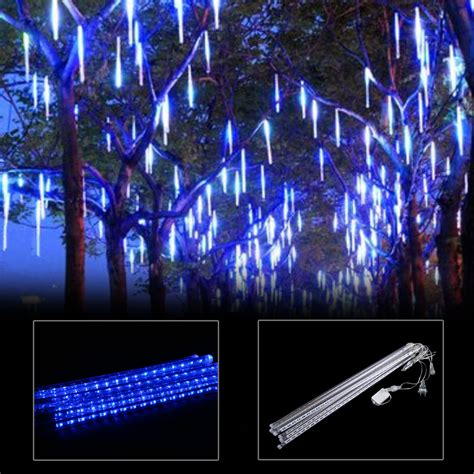 meteor shower lights waterproof meteor shower 8 50cm led string