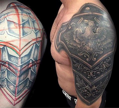 shoulder shield tattoo 17 best ideas about armor on shoulder
