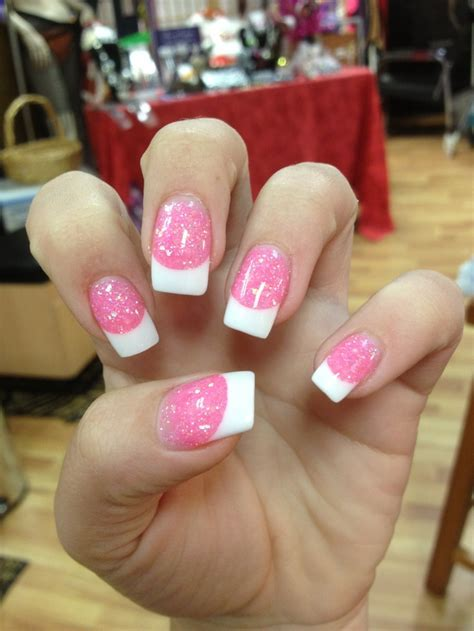 78 Best ideas about Sparkle French Manicure on Pinterest