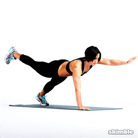 bird exercise push up bird exercise how to workout trainer by skimble