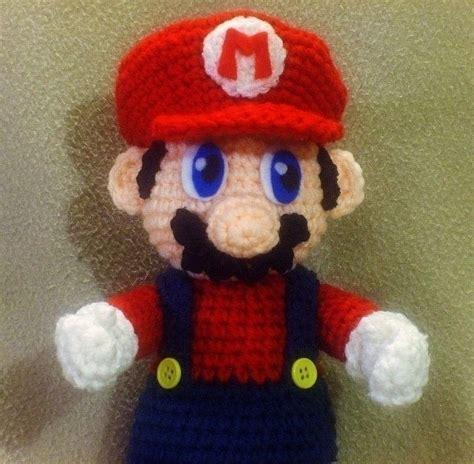 amigurumi patterns mario crochet mario plush 183 a computer game plushie 183 crochet on